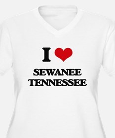 I love Sewanee Tennessee Plus Size T-Shirt