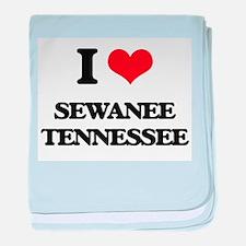 I love Sewanee Tennessee baby blanket