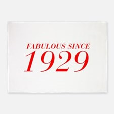 FABULOUS SINCE 1929-Bod red 300 5'x7'Area Rug
