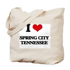 I love Spring City Tennessee Tote Bag