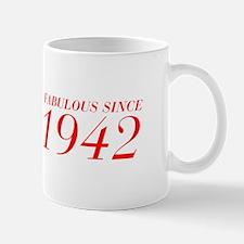 FABULOUS SINCE 1942-Bod red 300 Mugs