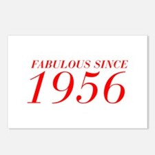 FABULOUS SINCE 1956-Bod red 300 Postcards (Package