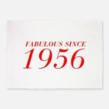 FABULOUS SINCE 1956-Bod red 300 5'x7'Area Rug