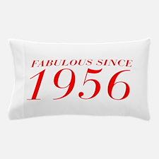 FABULOUS SINCE 1956-Bod red 300 Pillow Case