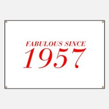 FABULOUS SINCE 1957-Bod red 300 Banner