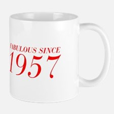 FABULOUS SINCE 1957-Bod red 300 Mugs