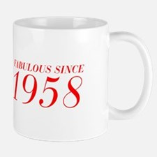 FABULOUS SINCE 1958-Bod red 300 Mugs