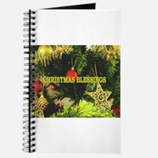 CHRISTMAS BLESSING - TREE AND STARS Journal