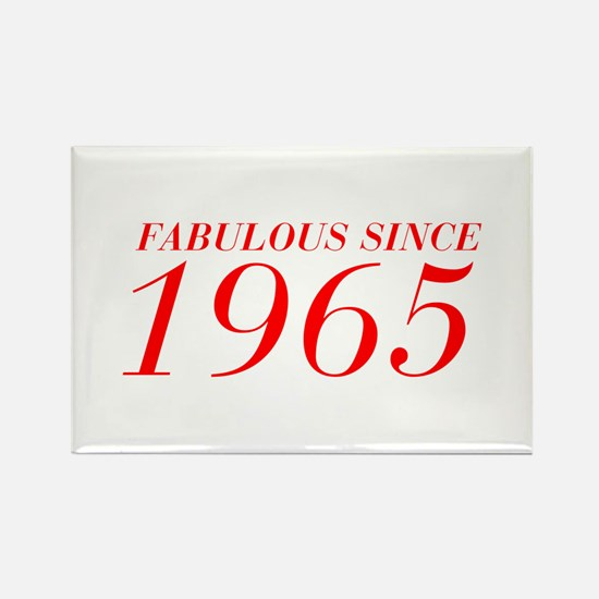 FABULOUS SINCE 1965-Bod red 300 Magnets