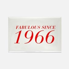 FABULOUS SINCE 1966-Bod red 300 Magnets