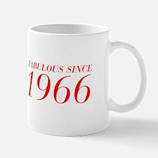 FABULOUS SINCE 1966-Bod red 300 Mugs