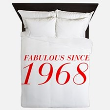 FABULOUS SINCE 1968-Bod red 300 Queen Duvet