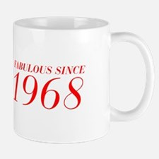 FABULOUS SINCE 1968-Bod red 300 Mugs