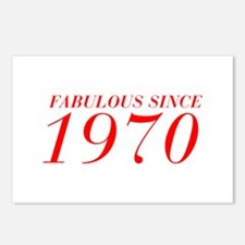 FABULOUS SINCE 1970-Bod red 300 Postcards (Package