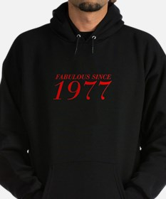 FABULOUS SINCE 1977-Bod red 300 Hoodie