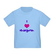 I Love Kindergarten T