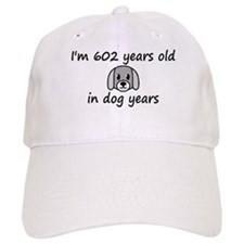 86 dog years 2 - 3 Baseball Baseball Cap