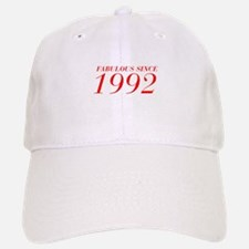 FABULOUS SINCE 1992-Bod red 300 Baseball Baseball Baseball Cap