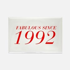 FABULOUS SINCE 1992-Bod red 300 Magnets