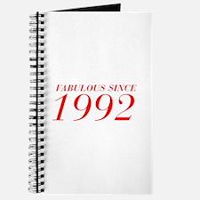 FABULOUS SINCE 1992-Bod red 300 Journal