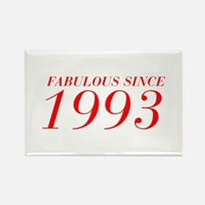 FABULOUS SINCE 1993-Bod red 300 Magnets