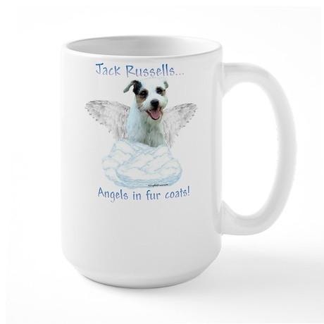 Jack Russell Angel Large Mug