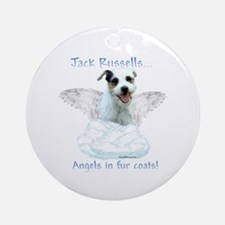 Jack Russell Angel Ornament (Round)