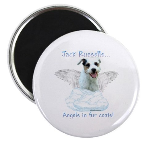 Jack Russell Angel Magnet