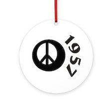 50th Birthday Ornament (Round)