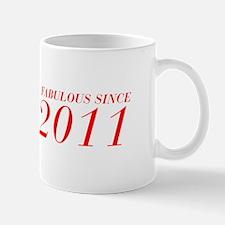 FABULOUS SINCE 2011-Bod red 300 Mugs