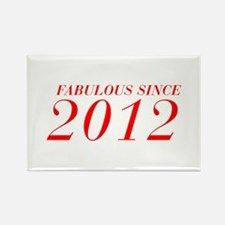 FABULOUS SINCE 2012-Bod red 300 Magnets