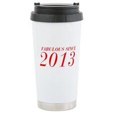 FABULOUS SINCE 2013-Bod red 300 Travel Mug