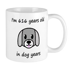 88 dog years 2 Mugs