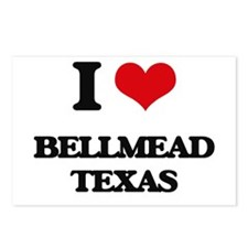I love Bellmead Texas Postcards (Package of 8)