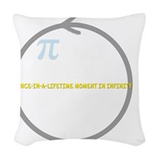 Pi Day! Woven Throw Pillow
