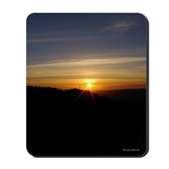 Observatory Sunset Mousepad | Mouse Pad
