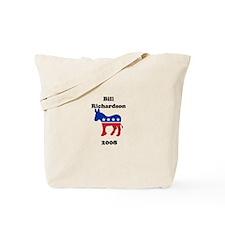 Bill Richardson Tote Bag