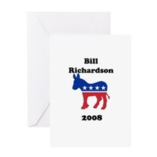 Bill Richardson Greeting Card