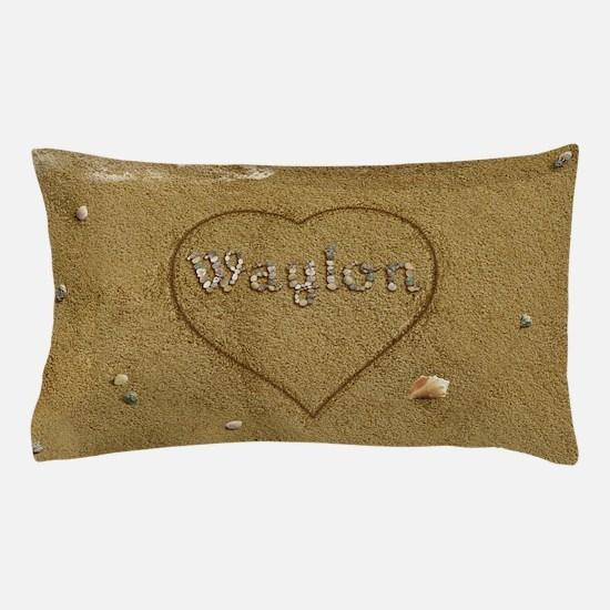 Waylon Beach Love Pillow Case