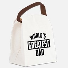 World's Greatest Canvas Lunch Bag