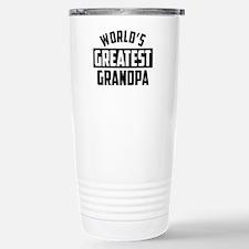 World's Greatest Stainless Steel Travel Mug