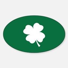 St Patricks Day Shamrock Decal