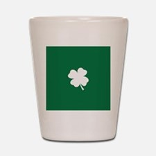 St Patricks Day Shamrock Shot Glass