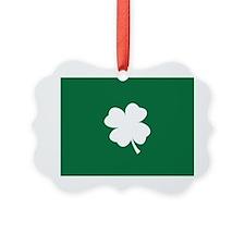St Patricks Day Shamrock Ornament