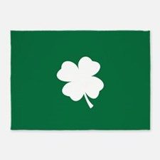 St Patricks Day Shamrock 5'x7'Area Rug