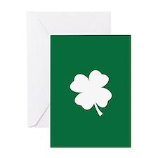 St Patricks Day Shamrock Greeting Cards