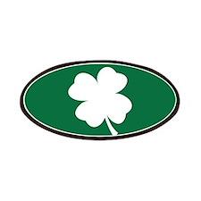 St Patricks Day Shamrock Patch