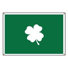 St Patricks Day Shamrock Banner