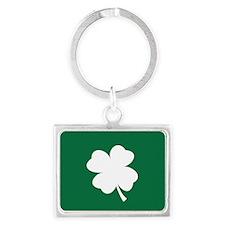 St Patricks Day Shamrock Keychains