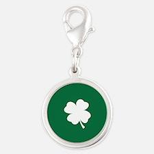 St Patricks Day Shamrock Charms